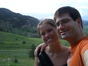 Dan and Erin at NCAR